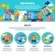 Digital Marketing Web Site - GraphicRiver Item for Sale