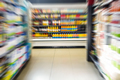 View of supermarket shelves - PhotoDune Item for Sale