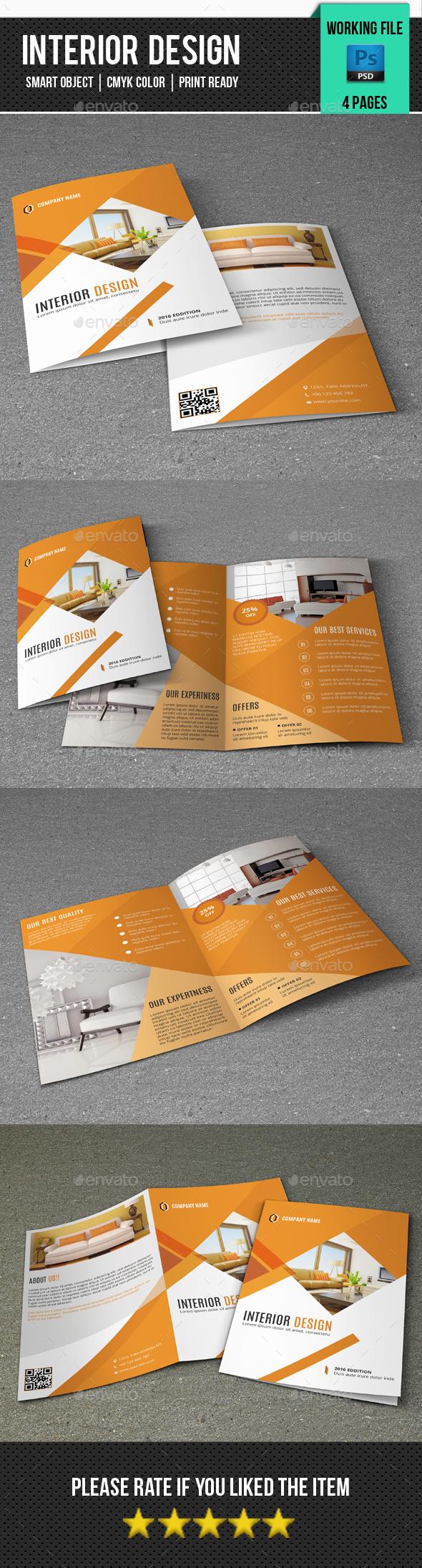 Interior Design Brochure-V340 - Corporate Brochures