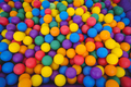 View of colored sponge balls - PhotoDune Item for Sale