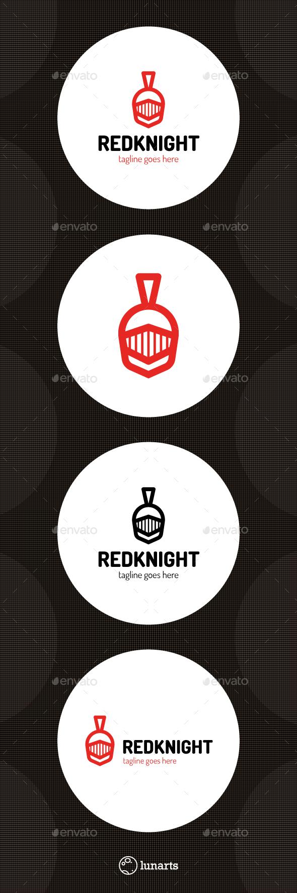 Red Knight Logo - Symbols Logo Templates