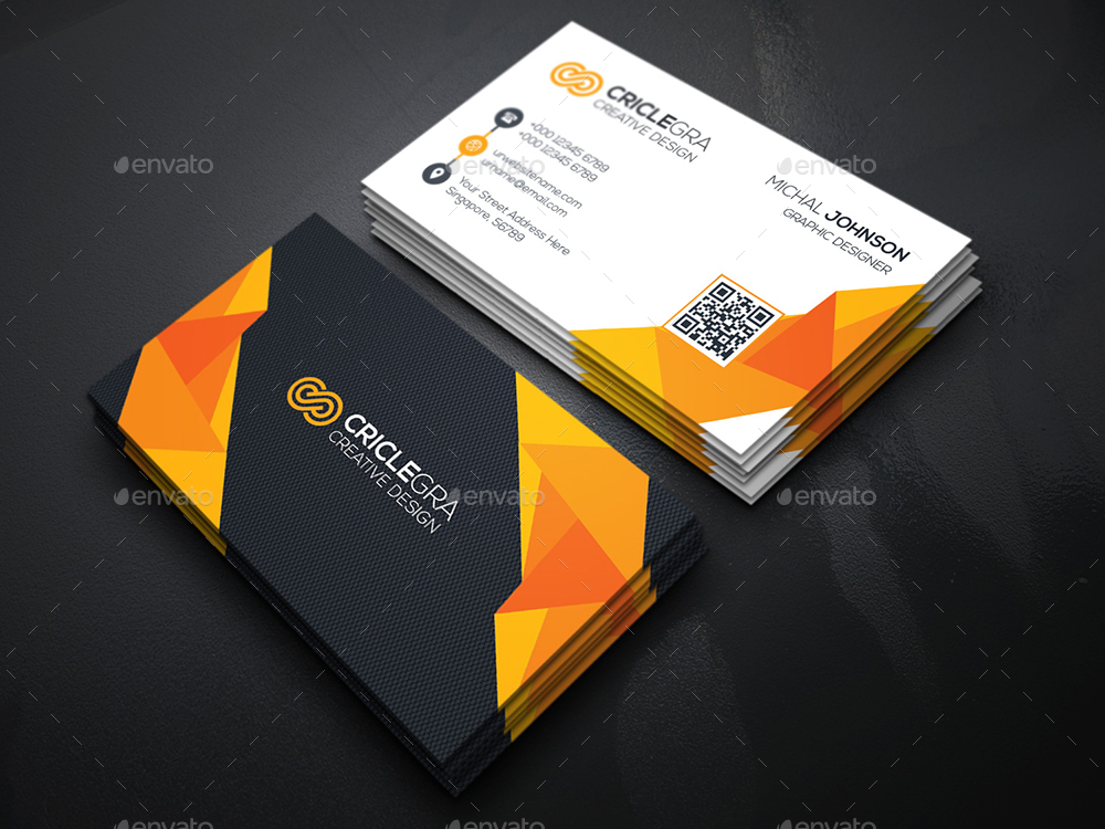 Cool Creative Business Card by generousart | GraphicRiver