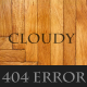 Cloudy - 404 Error Page Nulled
