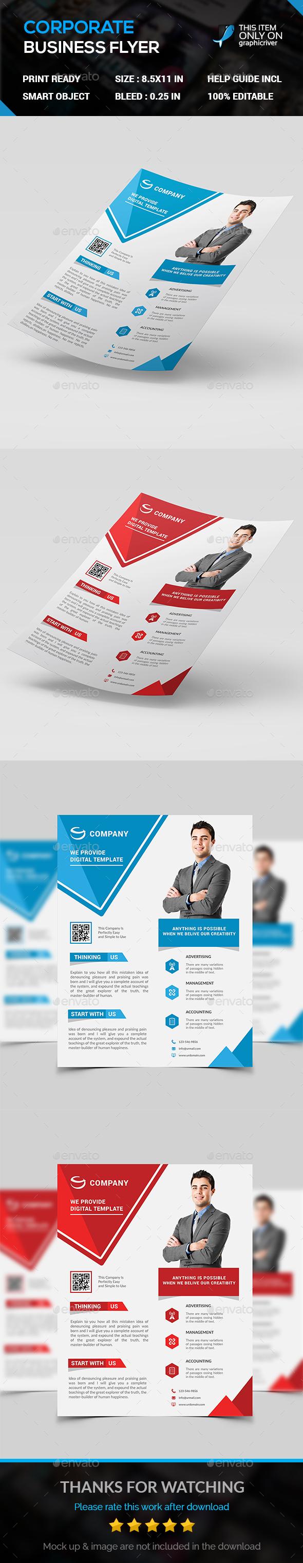 Modern business Flyer - Flyers Print Templates