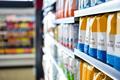 View of supermarket shelves - PhotoDune Item for Sale