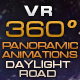 "VR 360 Panoramic Animations ""Daylight Road"" - VideoHive Item for Sale"