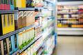 Supermarket shelves - PhotoDune Item for Sale