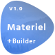 Material - Responsive Email Template + Online Builder  Nulled