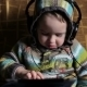 Little Boy With Headphones Browse Tablet Pc - VideoHive Item for Sale
