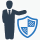Business Insurance and Security Icons - GraphicRiver Item for Sale