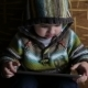Little Boy In Hood Browse Tablet Pc - VideoHive Item for Sale