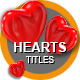 Hearts Titles - VideoHive Item for Sale