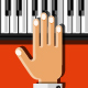Hands Playing the Synthesizer - GraphicRiver Item for Sale