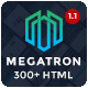 Megatron - Multipurpose HTML5 Template - ThemeForest Item for Sale