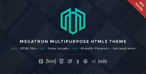 Megatron - Multipurpose HTML5 Template - Site Templates