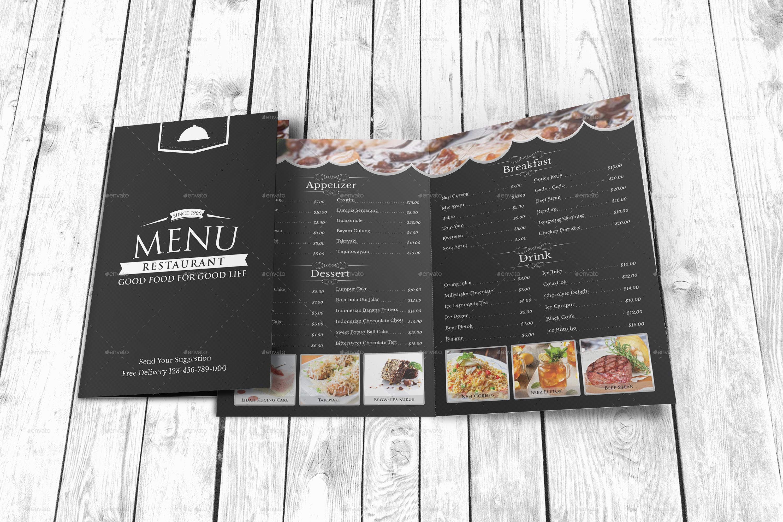 Modern Restaurant Menu Template by Geelator | GraphicRiver