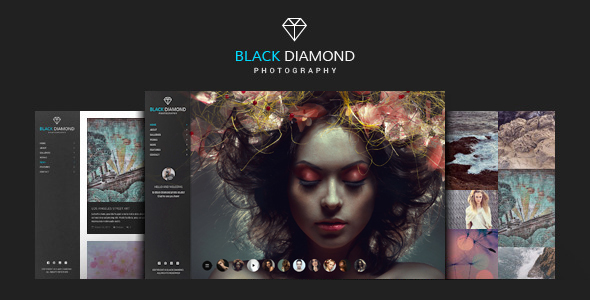 DIAMOND - Photography WordPress Theme - Photography Creative