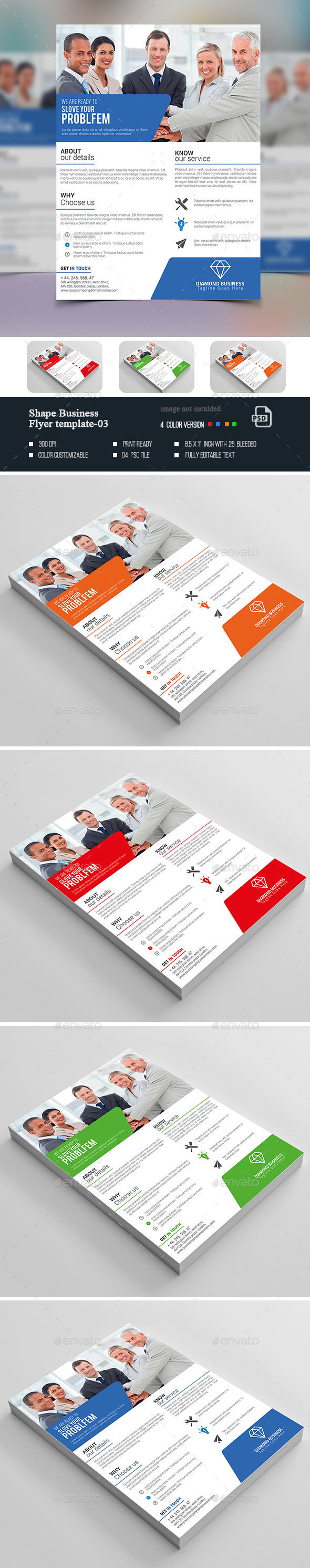 Shape Business Flyer-03 - Corporate Flyers