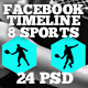 Facebook Timeline Covers Pack - Sports - GraphicRiver Item for Sale