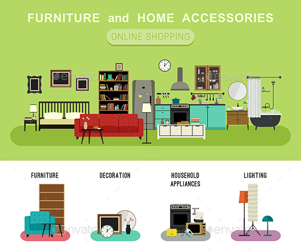 Furniture and Home Accessories - Commercial / Shopping Conceptual