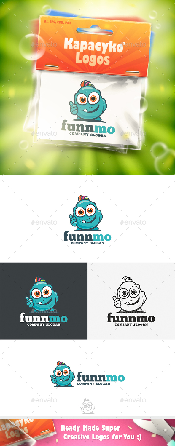 FunnMo Logo - Vector Abstract