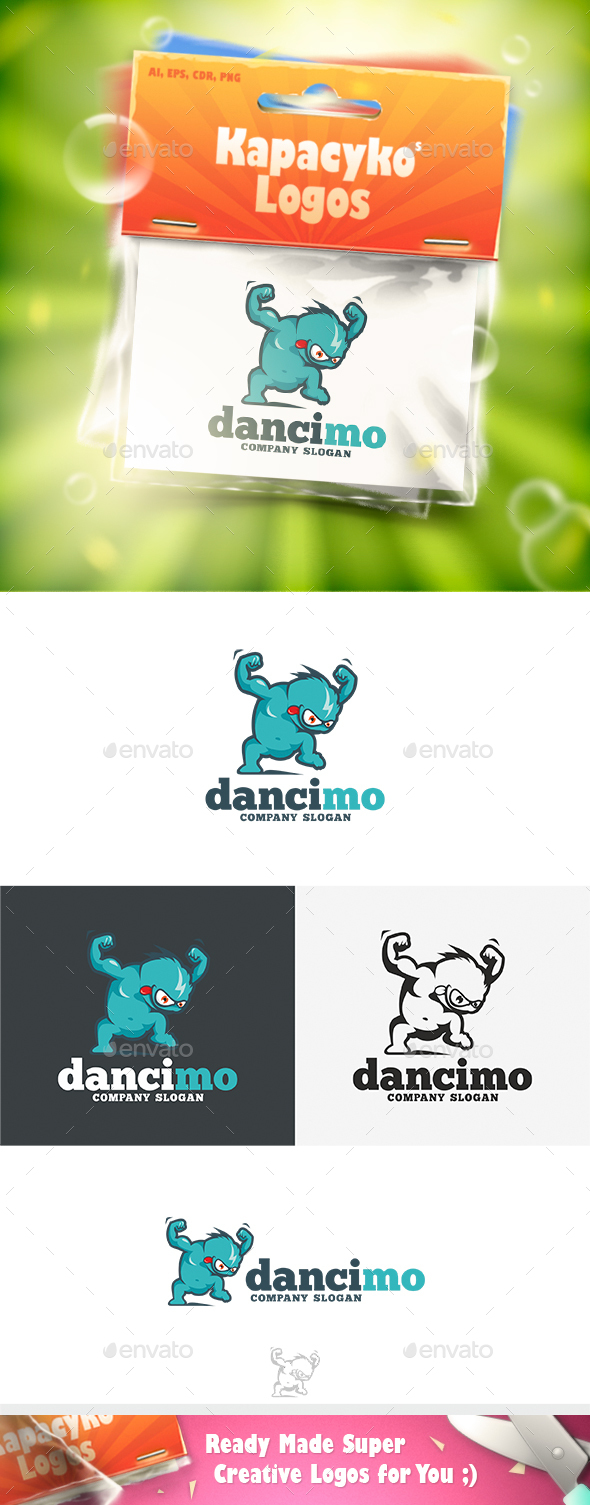 DanciMo Logo - Vector Abstract