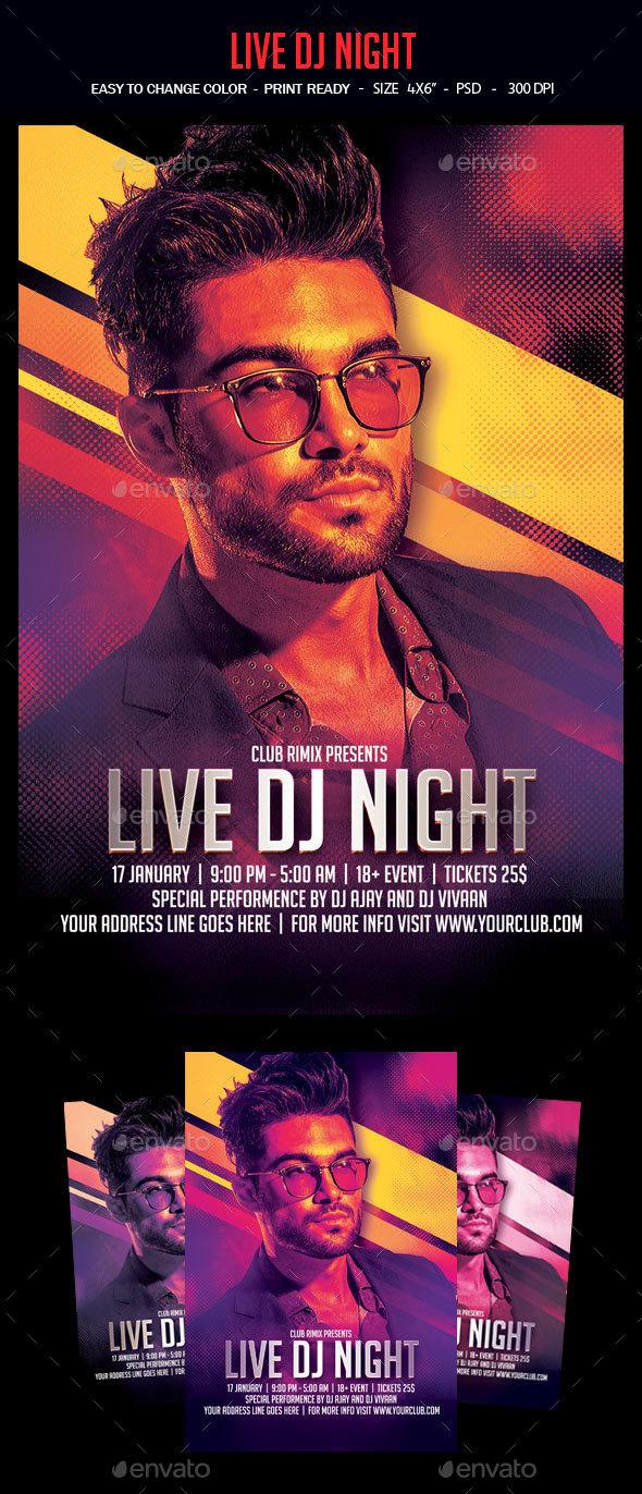 Live Dj Night - Clubs & Parties Events