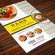 Restaurant Menu A4 Vol9 - GraphicRiver Item for Sale