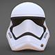 Stormtrooper Helmet Star Wars 7 The Force Awakens - 3DOcean Item for Sale