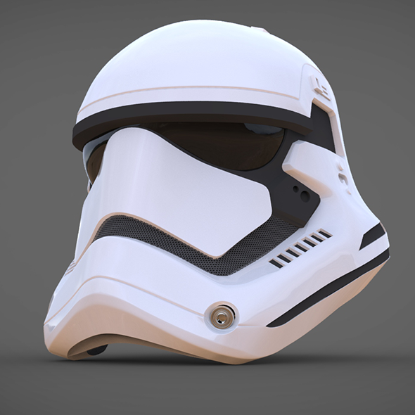 Stormtrooper Helmet Star Wars 7 The Force Awakens By