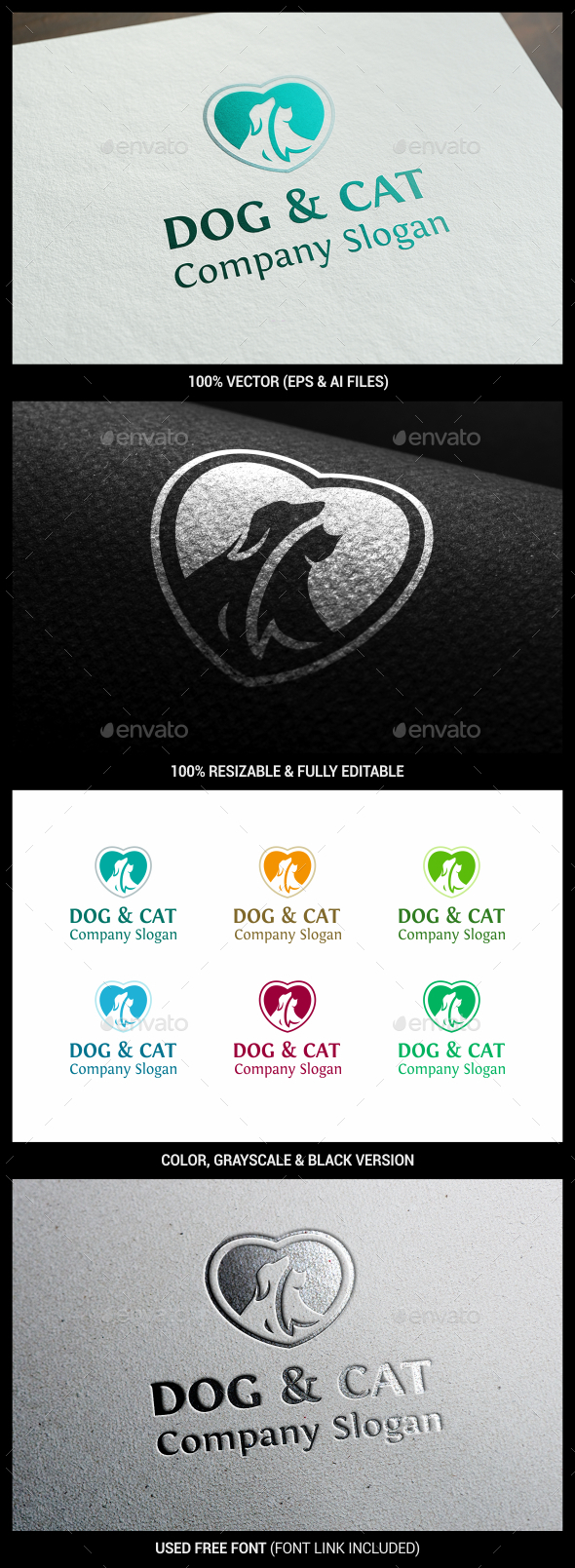 Pet - Animals Logo Templates