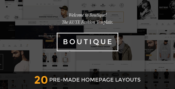 Boutique – Kute Fashion HTML Template