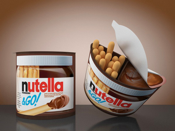 Nutella & Go - 3DOcean Item for Sale