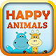 Happy Animals Memory Games - HTML5 Learning Game - CodeCanyon Item for Sale