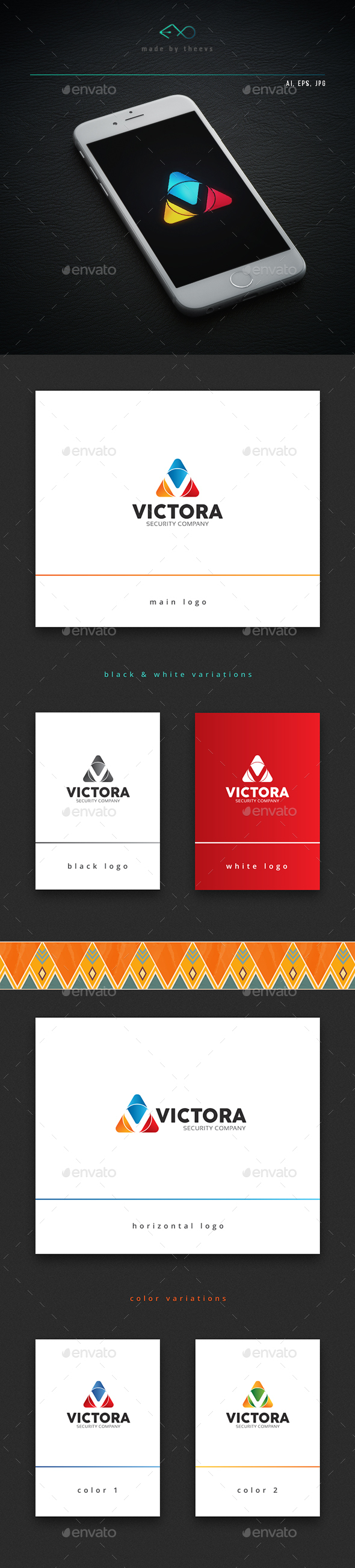 Victora - Letters Logo Templates
