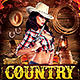 Country Night Flyer  - GraphicRiver Item for Sale