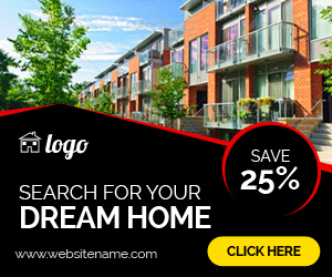 Real Estate - HTML5 ad banners by goaldesigns | CodeCanyon