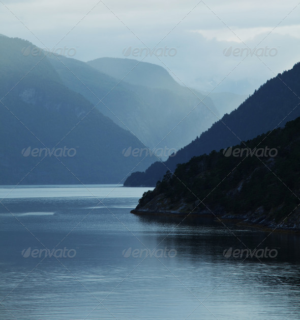 Norway landscapes - Stock Photo - Images
