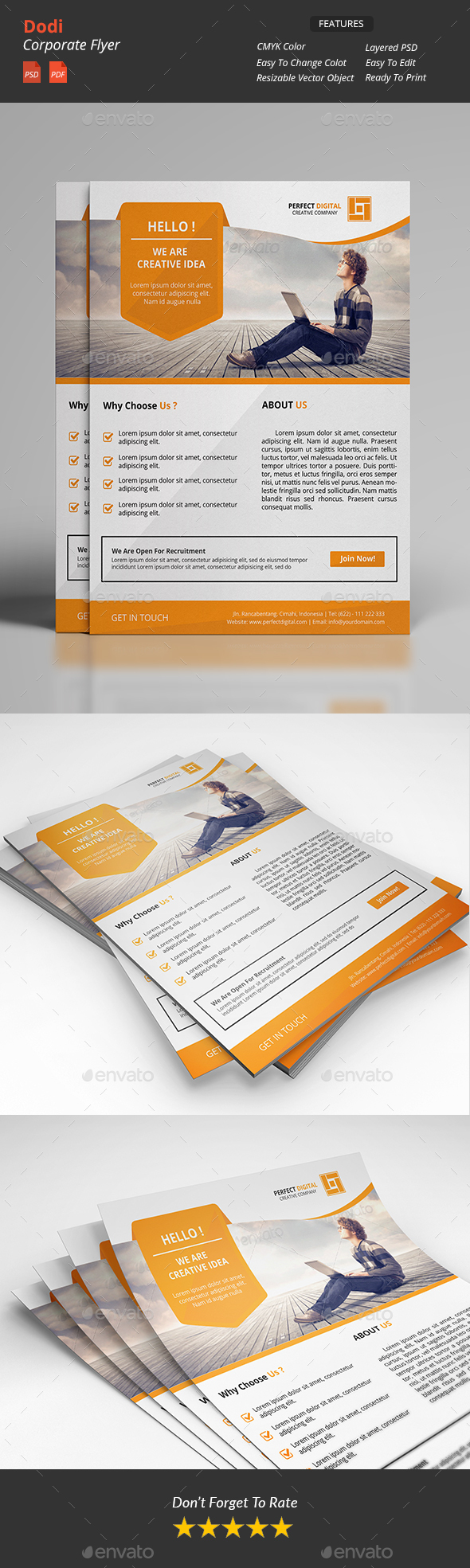 Dodi - Clean Corporate Flyers v2 - Corporate Flyers