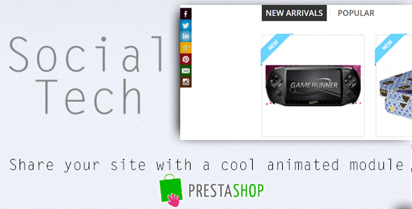 Social Tech / Share Prestashop Module - CodeCanyon Item for Sale