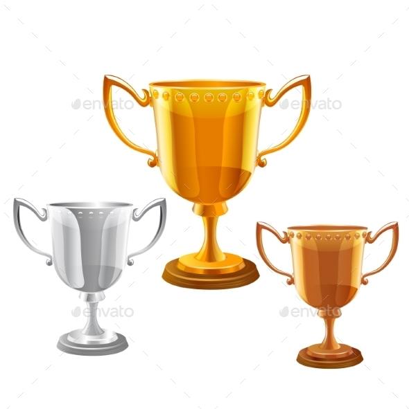 Trophy Set - Sports/Activity Conceptual