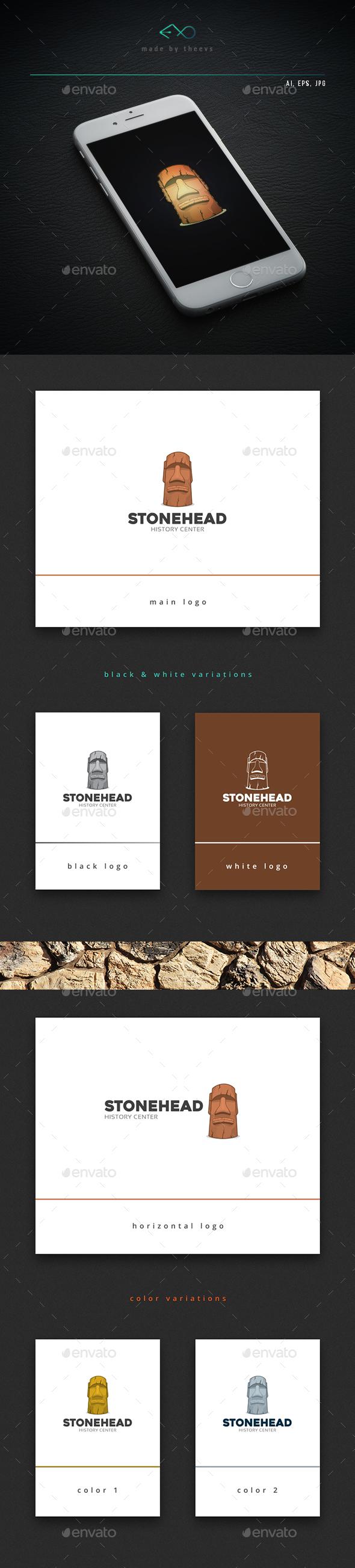 Stonehead - Objects Logo Templates