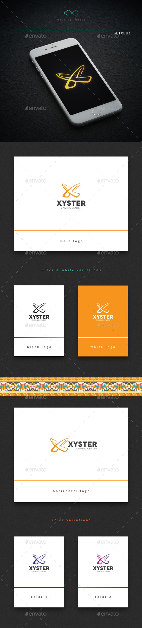 Xyster - Letters Logo Templates