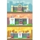 Medical Center And Hospital Building Vector - GraphicRiver Item for Sale