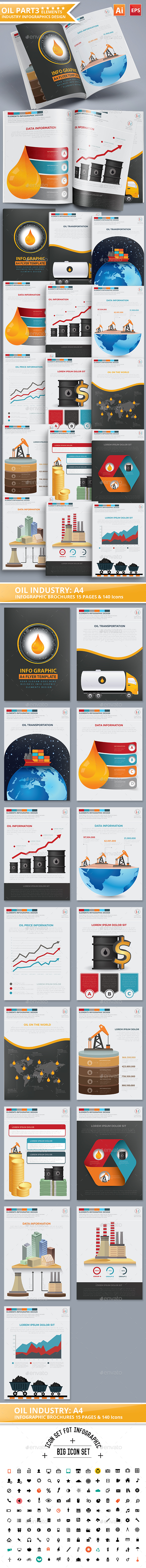 Oil Infographics Design Part 3 - Infographics