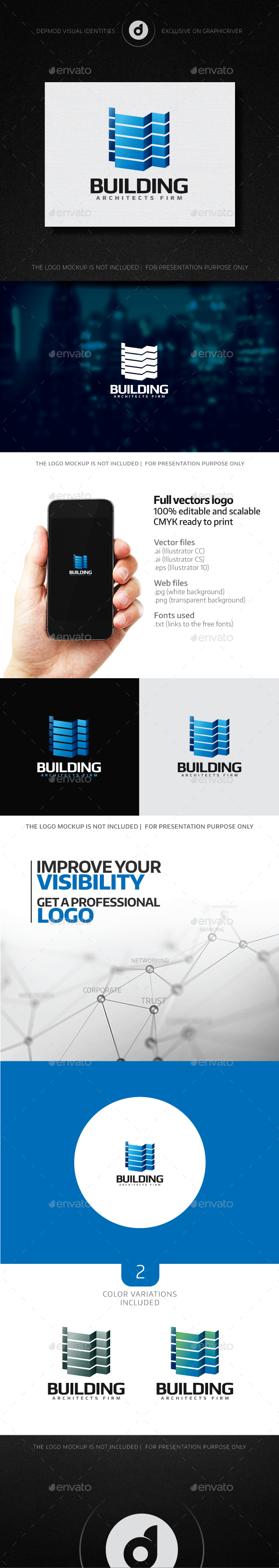 Building Logo - Buildings Logo Templates