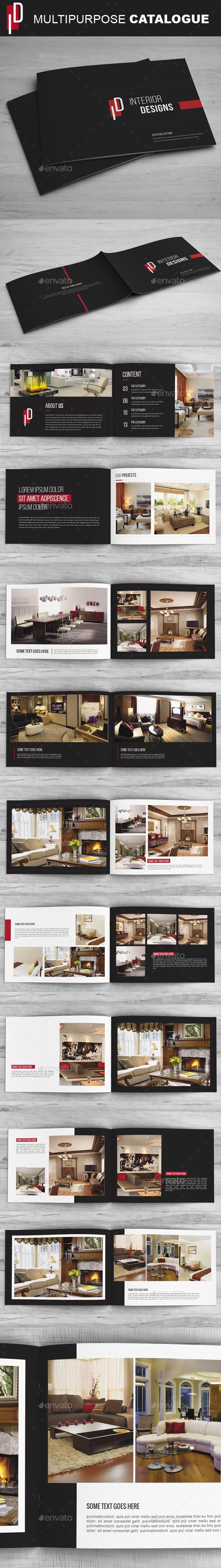 Simple Catalog / Portfolio / Brochure - Catalogs Brochures