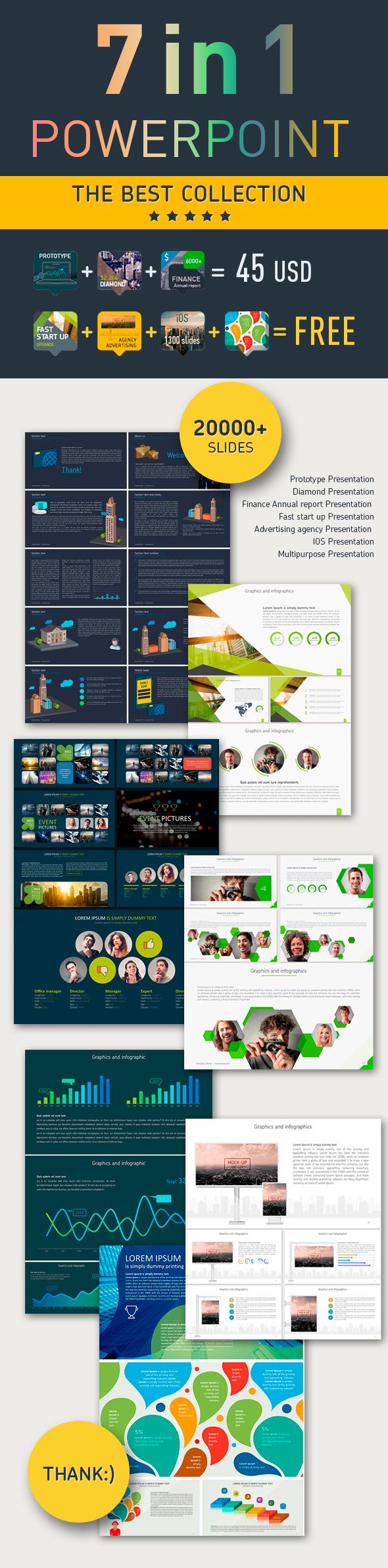 7 in 1 PowerPoint presentation - PowerPoint Templates Presentation Templates