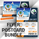 Green Energy  Flyer With Postcard Bundle  - GraphicRiver Item for Sale