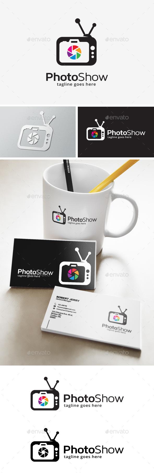 Photography TV Logo - Objects Logo Templates